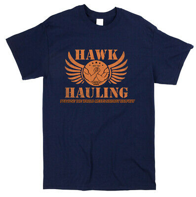 Hawk Hauling Over the Top Inspired T-shirt - Retro Classic Cult 80s Movie Film