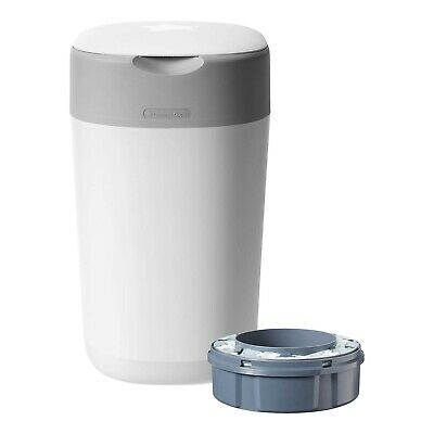 Tommee Tippee Sangenic Nappy Disposal Unit Twist & Click White