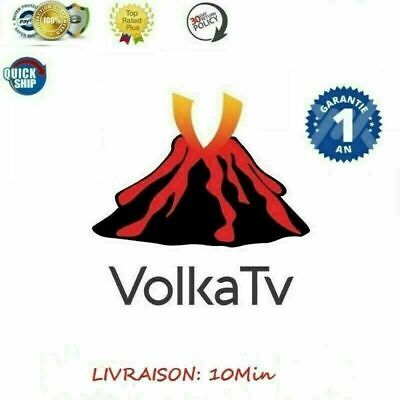 Volka Pro 2 subscription 12 mois, Android, Smart TV, h265, m3u, Code Box Mag