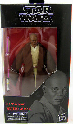 Hasbro Star Wars The Black Series 6 Inch Figure - Mace Windu #82 IN STOCK!