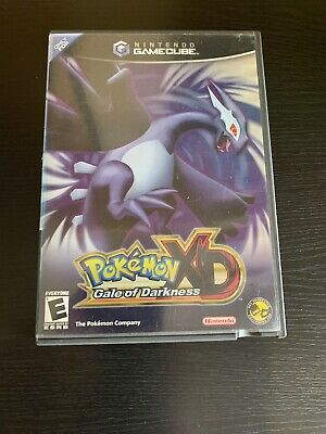Pokemon XD: Gale of Darkness (Nintendo GameCube, 2005) Case Only Authentic
