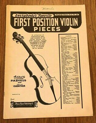 Everybody's Favorite  First Position Violin Pieces, No. 24, 1938