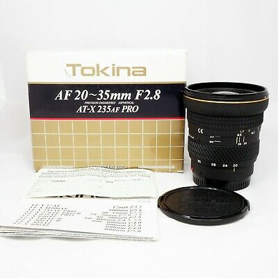 Tokina 20-35mm f/2.8 AT-X 235AF Pro Lens for Minolta Maxxum 7, 9, 7000, A99, A77