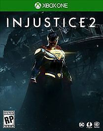 Injustice 2 (for Microsoft Xbox One, 2017) - Video Game Disc