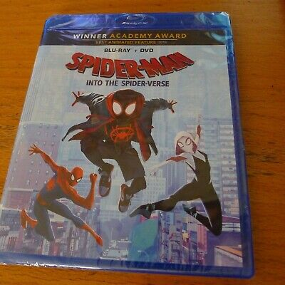 Spiderman Into the Spider Verse Blu-ray +  DVD