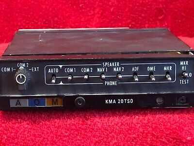 King Kma 20 Marker Beacon Receiver And Isolation Amplifier P/N 066-1024-03