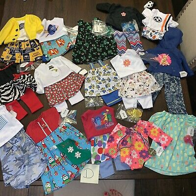 15 Outfit LOT Doll Clothes To Fit American Girl Dolls 18 Inch Soccer Disney