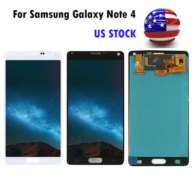 For Samsung Galaxy Note 4 N910 N910A LCD Display Touch Screen Digitizer Replace