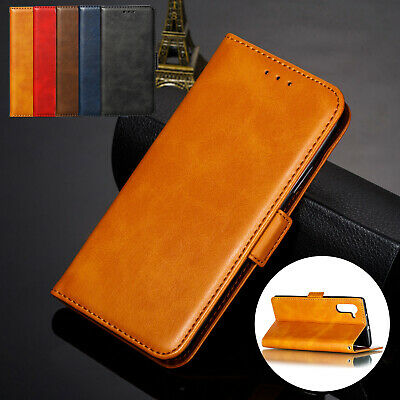 For Samsung Galaxy Note 10 Plus Note10 Phone Case Leather Card Flip Wallet Cover