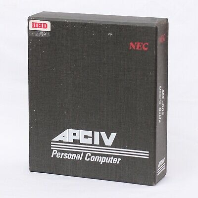 Vintage NEC APC IV Advanced Personal Computer MS-DOS 3.2 User's Guide