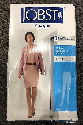 NEW - JOBST Opaque  - Medical Compression Stockings - 15-20 mmHg - Natural