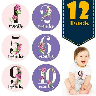 Baby Milestone Cards Monthly Keepsakes Stickers Photo props Photography Supplies
