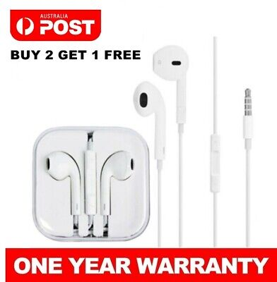 Earphones Earbuds Headphones for Samsung iPhone 6 5 4 iPad iPod Remote with Mic
