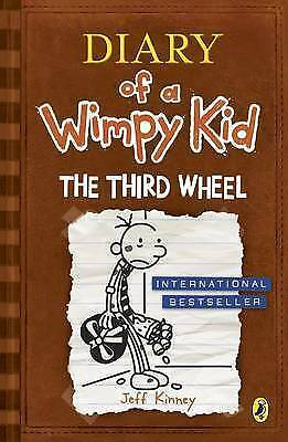 The Third Wheel - Diary of a Wimpy Kid book 7 Very Good Condition