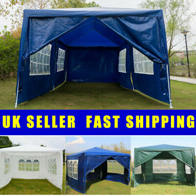 3x6 3x4 3x3m Heavy Duty Stronger Gazebo Weatherproof Fully Tent with 4 / 6 Sides