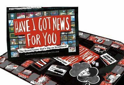 Have I Got News For You - Family Board Game - Brand New & Sealed