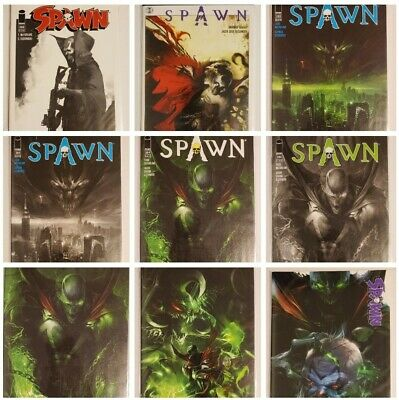 Spawn #276 #283 + Other Issues Comic Lot Low Print Run! Mattina Variant Covers!