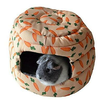 Rosewood Snuggles 2-In-1 Carrot Beehive Snuggle Bed