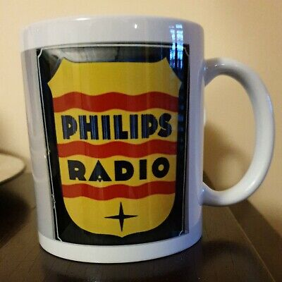 Phillips memorabilia Vintage Radio Mug . Very limited