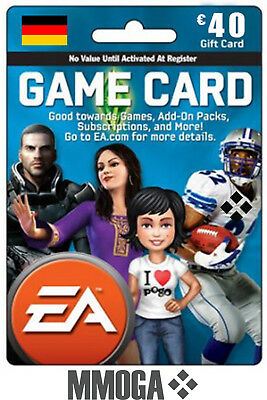EA Game Card EUR 40€ - 40 EURO EA Origin Store Guthaben Key f. Deutschland - DE