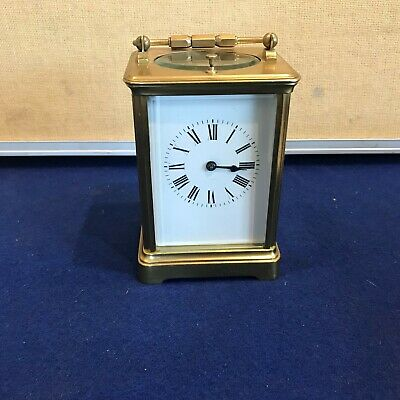 Repeater carriage clock by  Garrard & Co Lt London