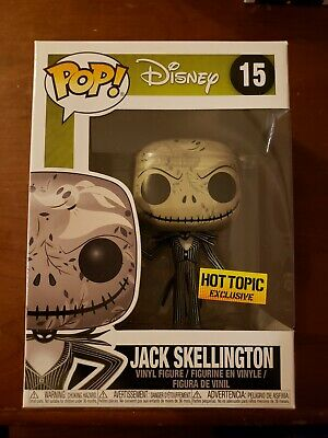 Funko Pop Jack Skellington Zero print Hot Topic exclusive