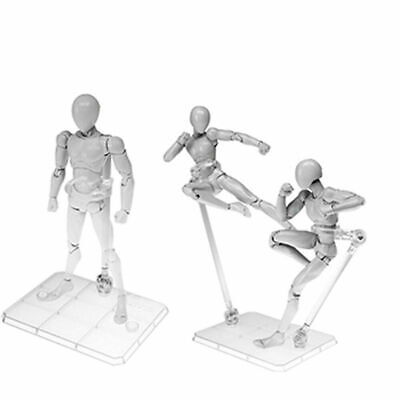 Action Base Clear Display Stand for 1/144 HG/RG Gundam Figure Model Toy Gift