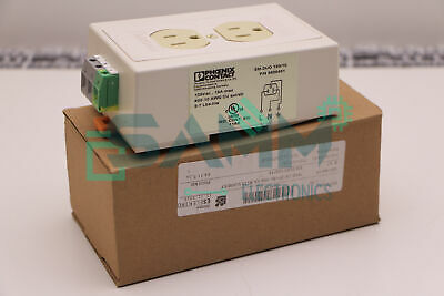 PHOENIX CONTACT 5600461 ; EM-DUO 120/15 DUAL POWER OUTLET New