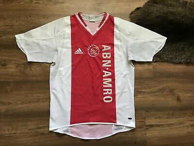 Ajax Amsterdam Holland 2004/2005 Home Football Shirt Jersey Maglia Adidas