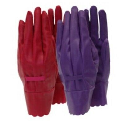Gloves Town & Country Aqua Sure Ladies Gloves Orchid Medium NEW