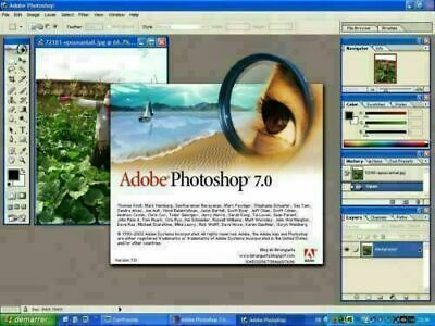 Adobe Photoshop 7.0 Vollversion  Windows 7, 8 ,10 Vista