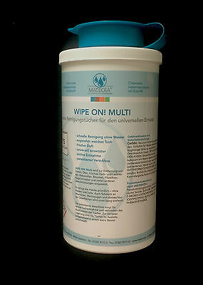 75 x Matecra Wipe on! Multi Humidity Cleaning Cloths for D.Universal Insert