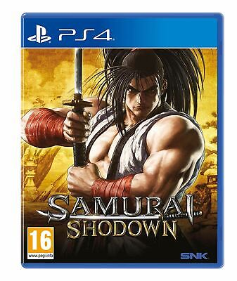 Samurai Shodown PS4 Brand New Sealed Official UK PAL PlayStation 4