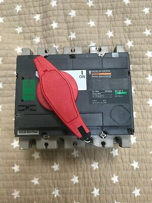 Merlin Gerin 250 Amp Four Pole Switch Disconnector