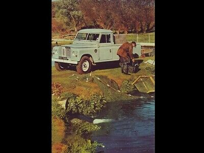 LAND ROVER SERIES-III RANGE RETRO POSTER BROCHURE CLASSIC ADVERT A3