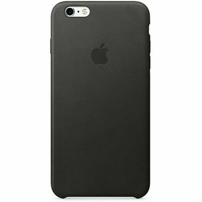 Apple Leather Case for iPhone 6s Plus Black (MKXF2ZM/A)