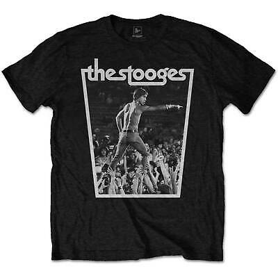 Iggy Pop and the Stooges Live Punk Gig Official Tee T-Shirt Mens Unisex