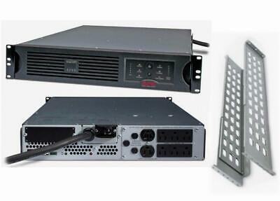 APC SUA2200RM2U Smart-UPS 2200VA 1980W 120V Rackmount Power Backup New Batteries