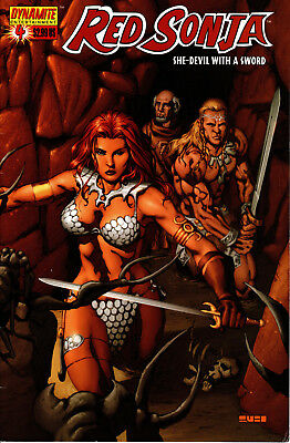 Red Sonja: She-Devil With A Sword #4 Mel Rubi Cover Nm Dynamite