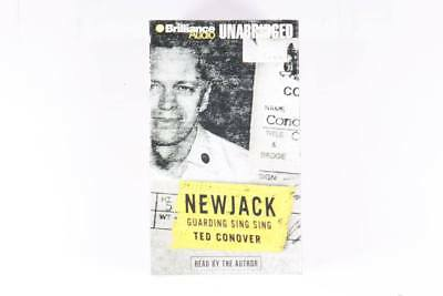 New Jack-Guarding Sing Sing by Ted Conover Audio book on cassette
