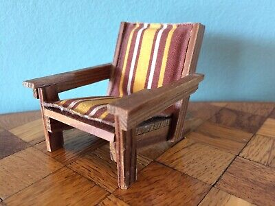 Gartenstuhl Stuhl Lundby Puppenstube Puppenhaus 1:18 dollhouse rocking chair