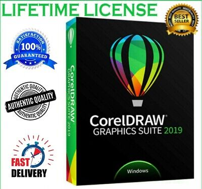 CorelDRAW Graphics Suite 2019 🔥 Lifetime Activated 🔑 Fast Delivery 📥