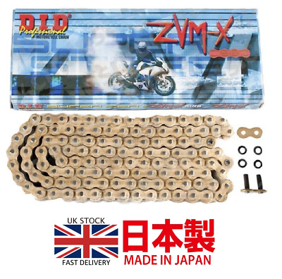 Did Super Heavy Duty X-Ring Gold Motorcycle Drive Chain 525 Zvmx 118 L Links