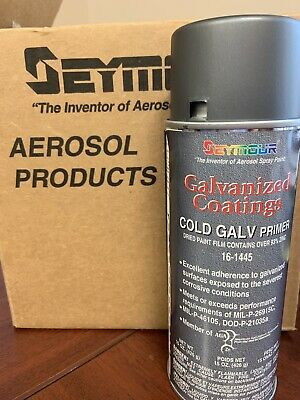 Seymour 16-1445 Galvanized Coatings Spray Paint, Cold Galvanized Primer