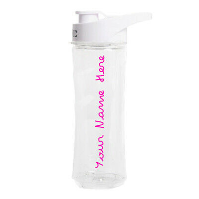 Love Island Text Personalised Name Water Bottle Sticker Custom Decal Transfer