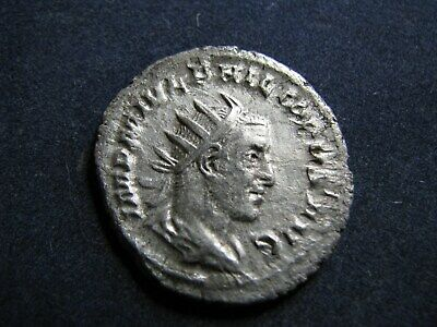 Genuine Ancient Roman Silver Antoninianus Coin,Philip 'The Arab',Great Detail