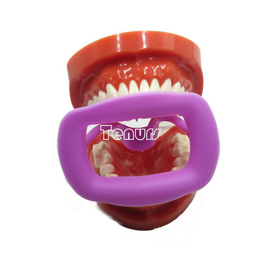 1pc Newly Orthodontic Dental O Mouth Opener Intraoral Cheek Lip Retractor Purple