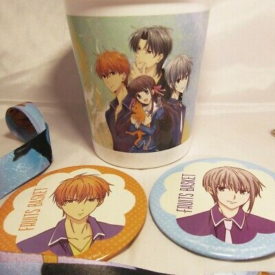 Funimation Premiere 2019 Fruits Basket Tohru Pin Button Can Badge