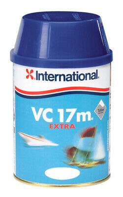 458COL312 1107935 International VC 17m Extra Antifouling 0,75Lt Graphite #458COL