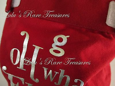 gDiaper Little gPants Holiday Christmas Oh What Fun! Large w/ gLiner NEW VHTF